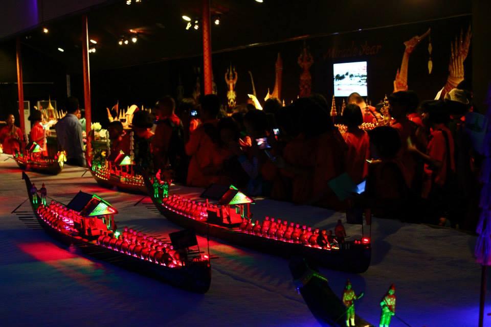 แนะนำที่ทัศนศึกษาแห่งใหม่ ศูนย์แสดงเรือพระราชพิธีจำลอง 4 มิติ ที