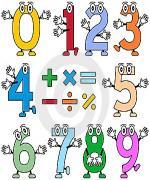 เขียน 1-10 และ 1-100