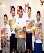 เด็กไทยเจ๋งคว้าวาดภาพระดับโลก