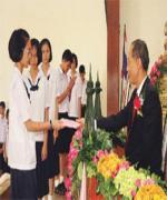 ร.ร.ปทุมเทพฯจัดงาน'อาเซียนรวมใจ' วันเกียรติยศ4ชาติชูแลกเปลี่ยนวัฒนธรรม