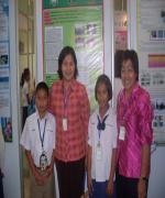 สุดประทับใจ นักเรียนจตุคามวิทยาคม โคราช ชนะเลิศผลงานวิจัยวิทยาศาสตร์โลก