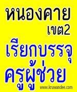 สพป. หนองคาย เขต 2 เรียกบรรจุครู รายงานตัว 31 สิงหาคม 2555