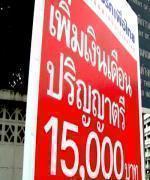 โฆษกเพื่อไทยยืนยัน ปริญญาตรี 15000 บาท ไม่ใช่นโยบายหลอกลวง