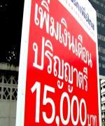 กระทบซึมลึก...สังคมไทย ผลพวงค่าแรง 300-เงินเดือน 15,000