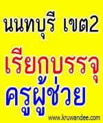 สพป.นนทบุรี เขต 2 เรียกบรรจุครู (ไปบรรจุเขตอื่น)