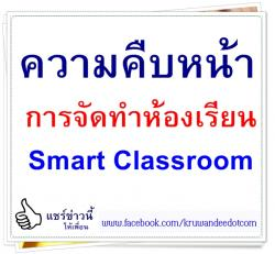 ความคืบหน้าการจัดทำห้องเรียน Smart Classroom
