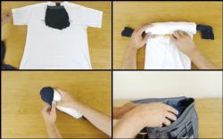 เจ๋ง ! ชมคลิปวิธีเก็บเสื้อผ้าสำหรับ 1 คืน แบบง่ายเว่อร์