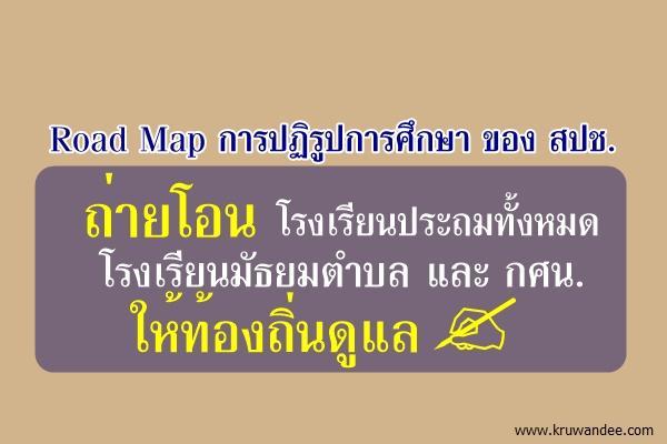 """""""เปลี่ยนประเทศไทยกับ สปช. : NRC Blueprint for Change"""" (เฉพาะด้านการศึกษา)"""