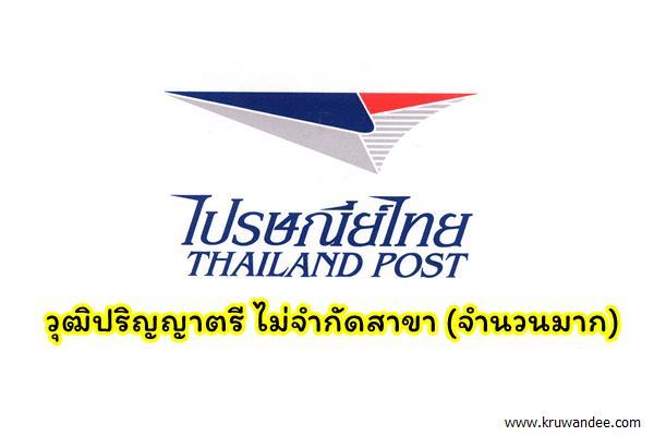 ด่วน!! บริษัท ไปรษณีย์ไทย จำกัด เปิดรับสมัครวุฒิปริญญาตรี ไม่จำกัดสาขา จำนวนมาก